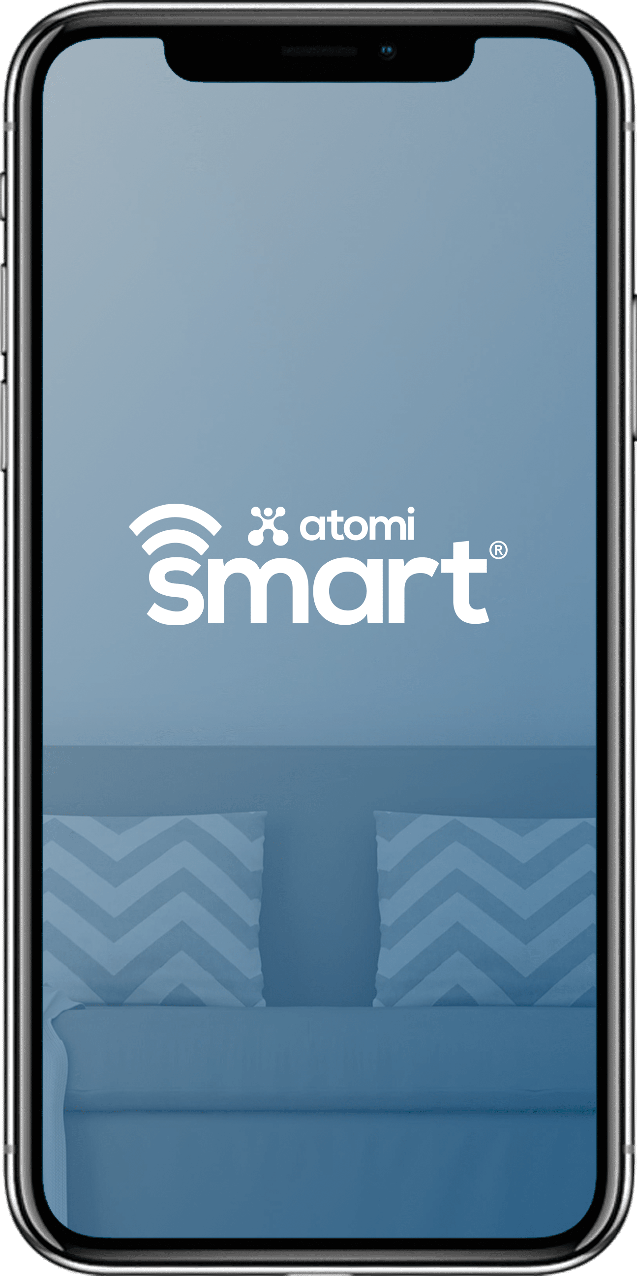Download the highly rated atomi smart app, available on IOS and Android.