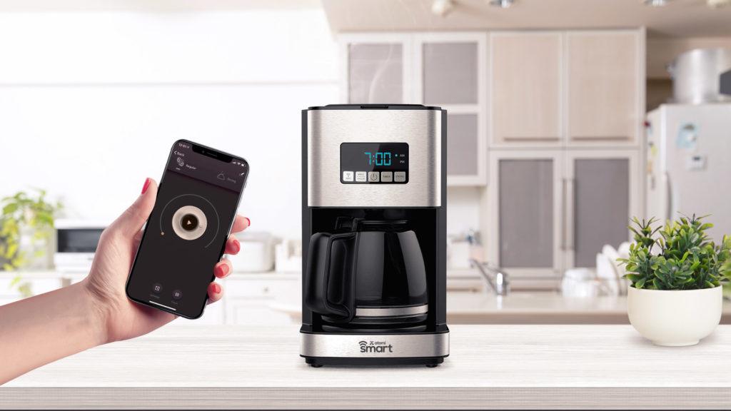 The atomi Smart Coffee Maker understands your coffee needs.
