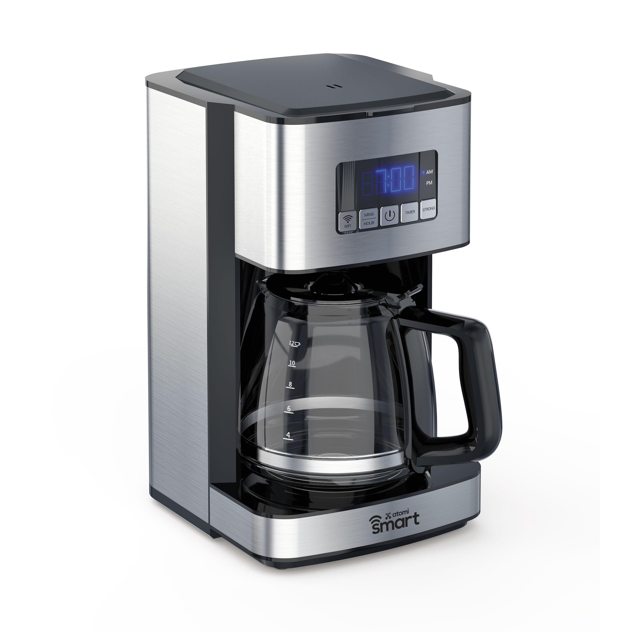 The atomi Smart Coffee Maker: Coffee the way you like served exactly when you like