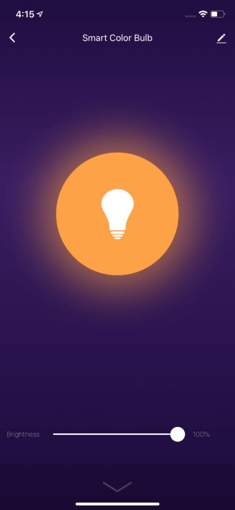 Color Bulb Power