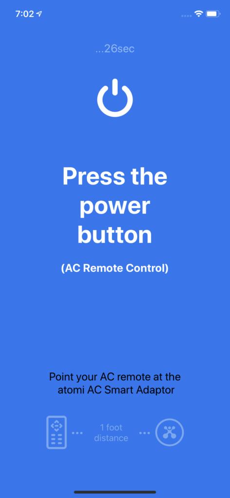 Press Power Button