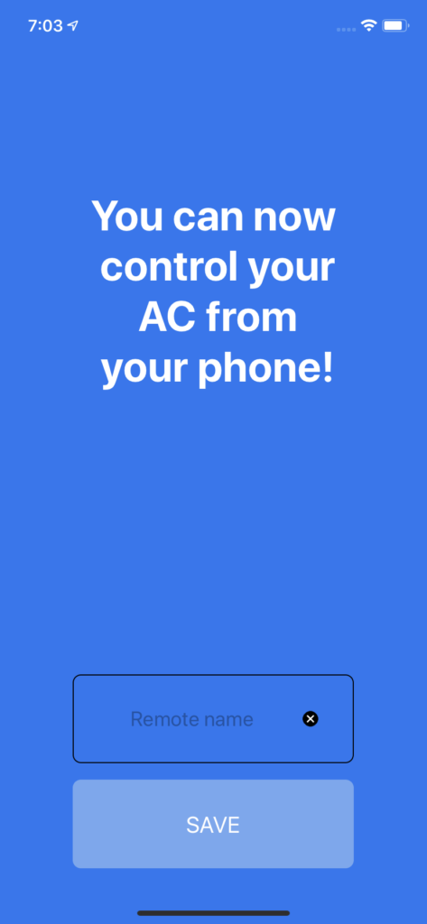 Success AC Message
