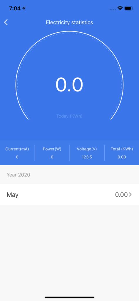 Power Usage AC