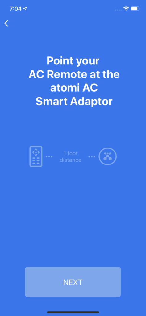 Point AC Remote
