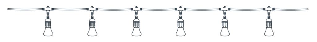 Illustration of Smart String Lights