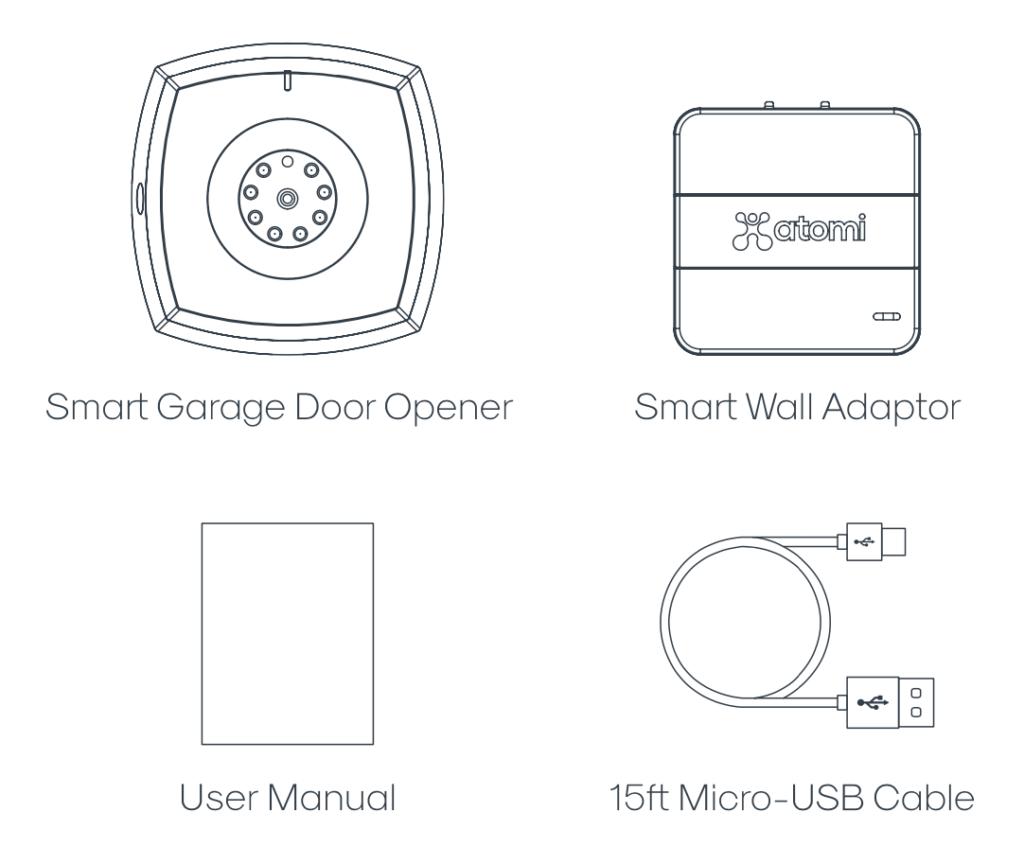 Garage Door Opener Illustration