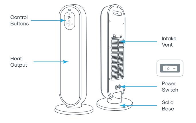 Heater Main Parts