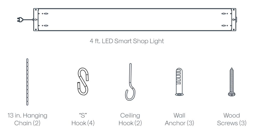 Shop Light Inside the Box