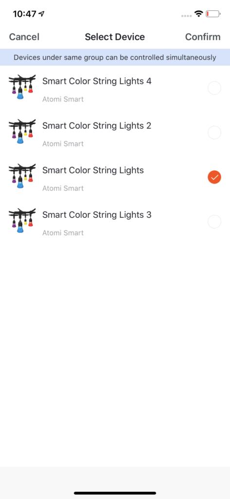 String Lights Group